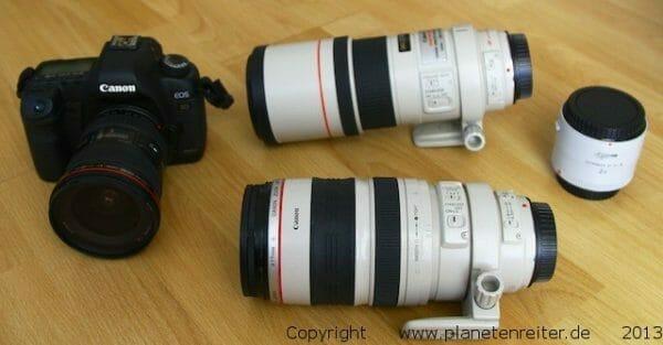 Kamera Ausrüstung Safari