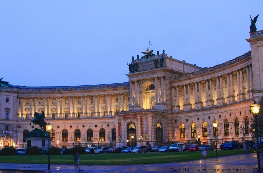 Wien: Wiener Hofburg planetenreiter.de