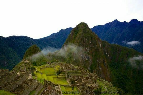 Machu Picchu, Peru. Copyright DC Loew