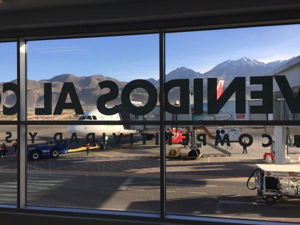 Flughafen Arequipa Peru