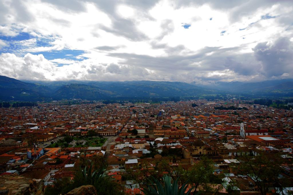 Cajamarca Peru Panorama