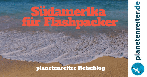 Südamerika Flasphpacker