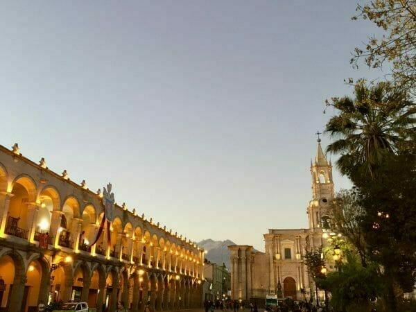 Arequipa Peru Plaza de Armas