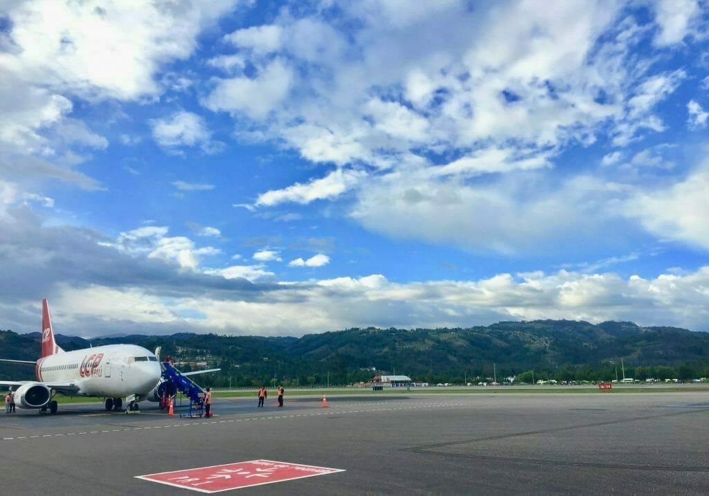 Reiseblog Peru: Flughafen Cajamarca