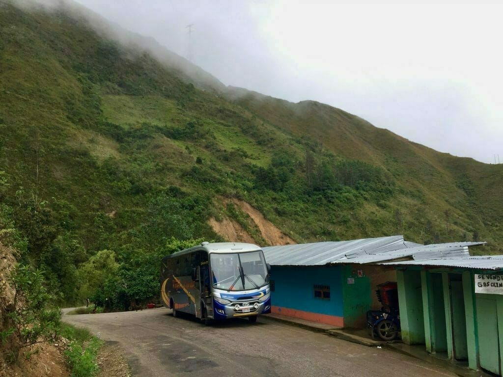 Bustrip Cajamarca Chachapoyas Peru
