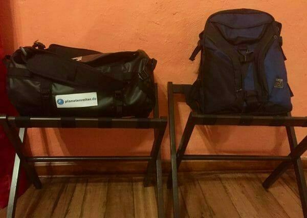 Sicheres Reisen in Peru: Mit leichtem Gepäck gehts besser