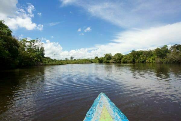 Iquitos Rio Nanay Peru