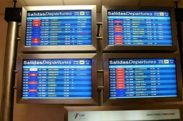 Peru Inlandsflüge