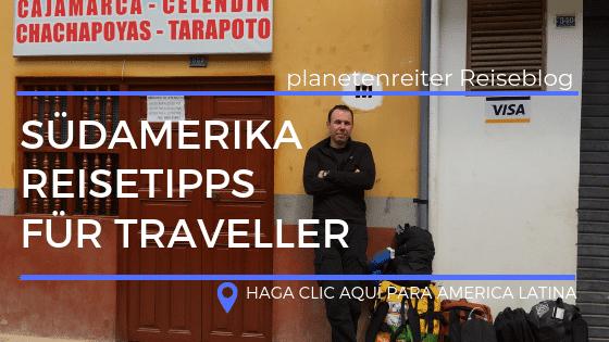 Südamerika Reiseblogger