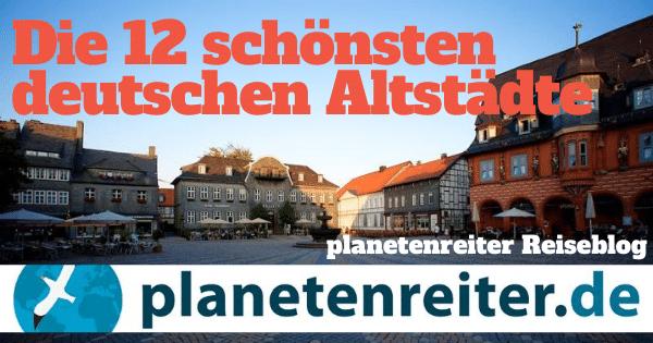 Noch mehr alte Städtchen? Gibts auch in Deutschland!