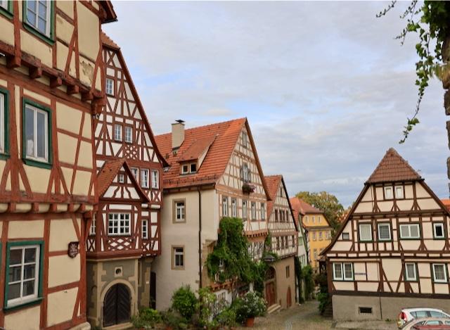 Altstadt und Kaiserpfalz Bad Wimpfen.