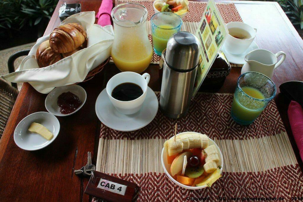 Südamerika Frühstück