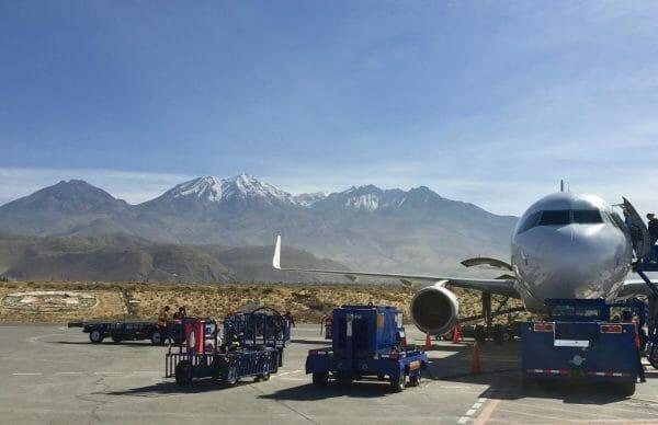 AQP Arequipa Peru Airport