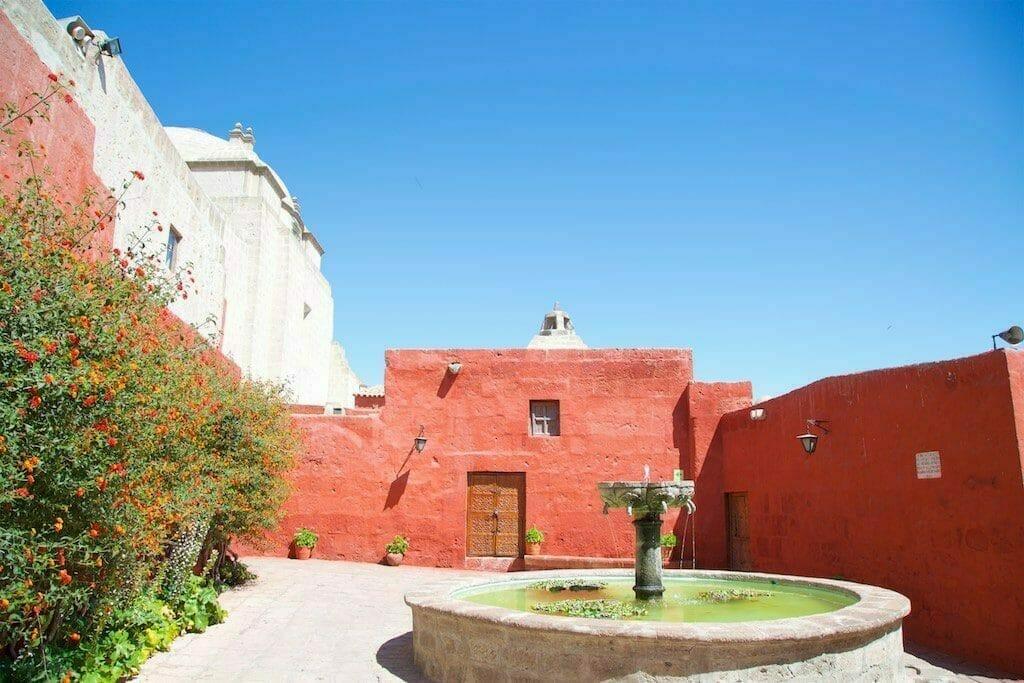 Im Santa Catalina Kloster zu Arequipa, Peru.