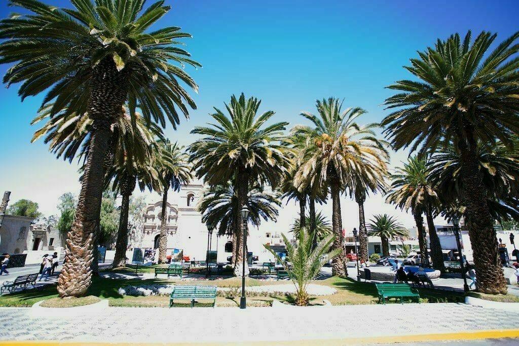 Arequipa Peru Plaza San Francisco