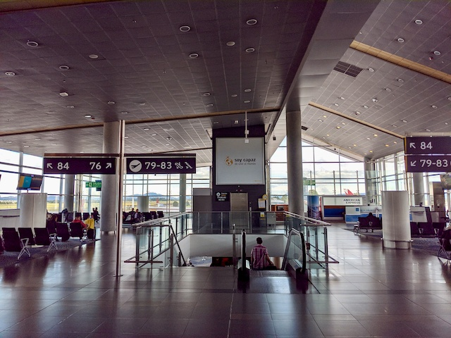Bogota Kolumbien Flughafen El Dorado