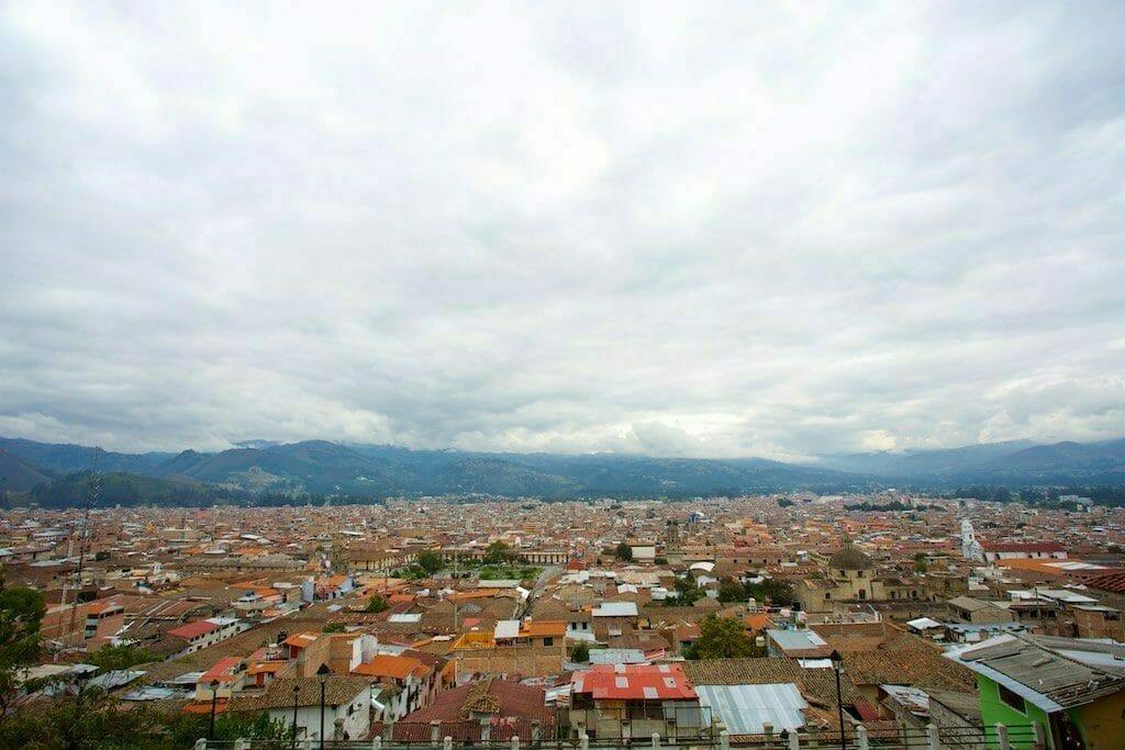 Reiseblog Peru: Panorama Cajamarca