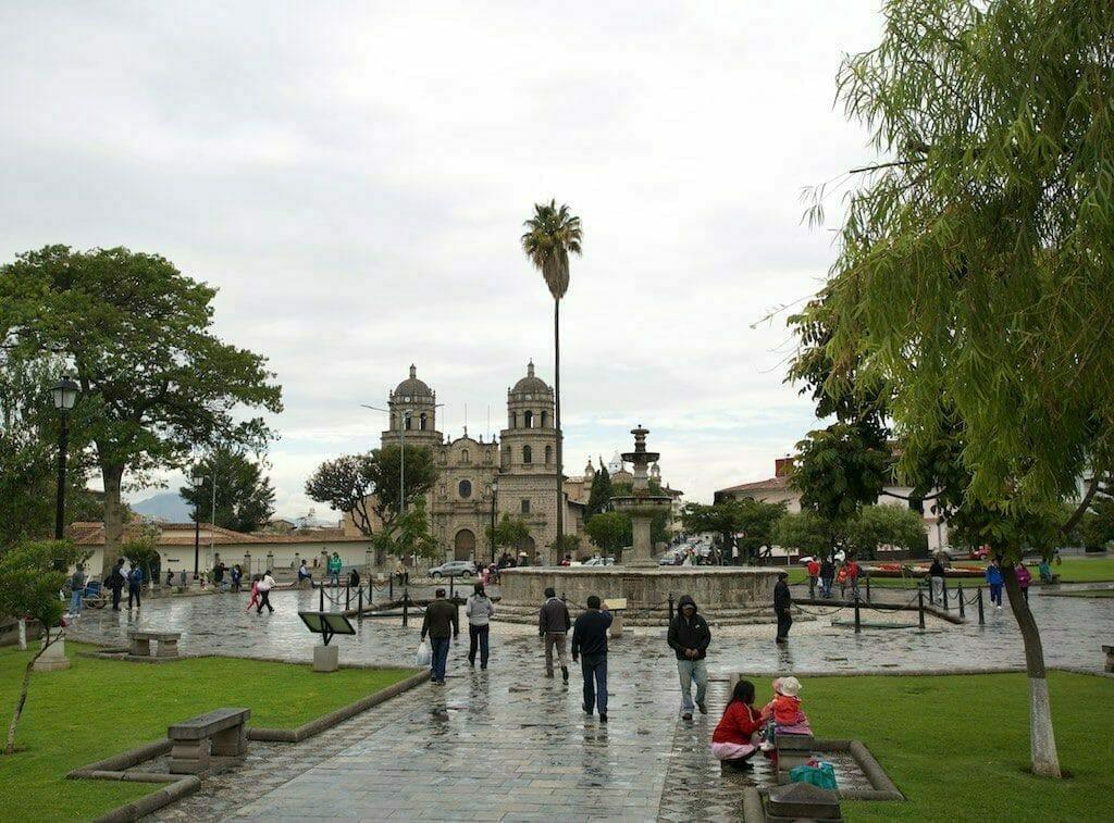Plaza de Armas Cajamarca Peru