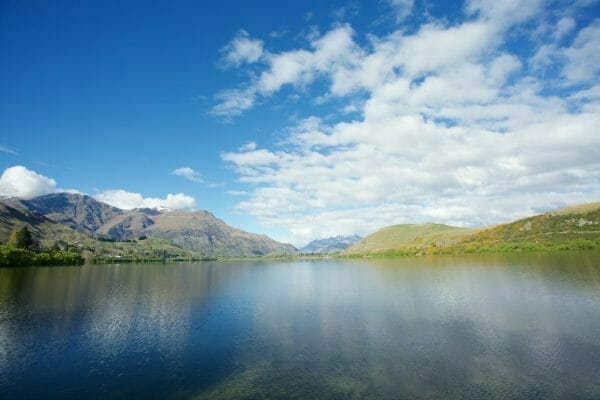 Lake Hayes, Neuseeland Camping