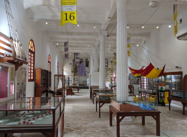 Kolumbien Cartagena de Indias: Museo de Naval