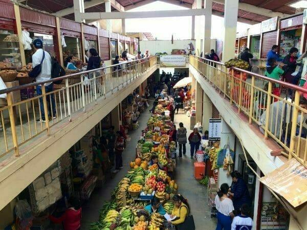 Chachapoyas, Peru: Markthalle