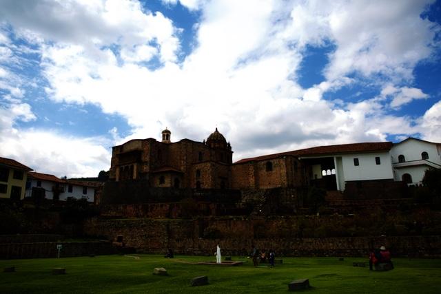 Cusco Peru: Sonnentempel Korikancha