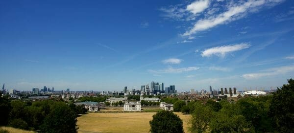 London Panorama from Greenwich