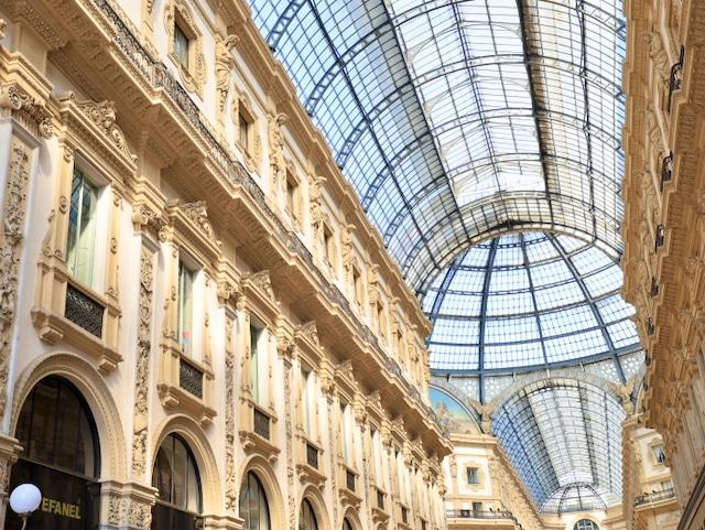 Roadtrip Italien: Galleria Vittorio Emanuele, Milano.