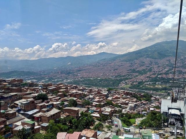 Kolumbien Reiseblog: Über den Dächern von Medellin