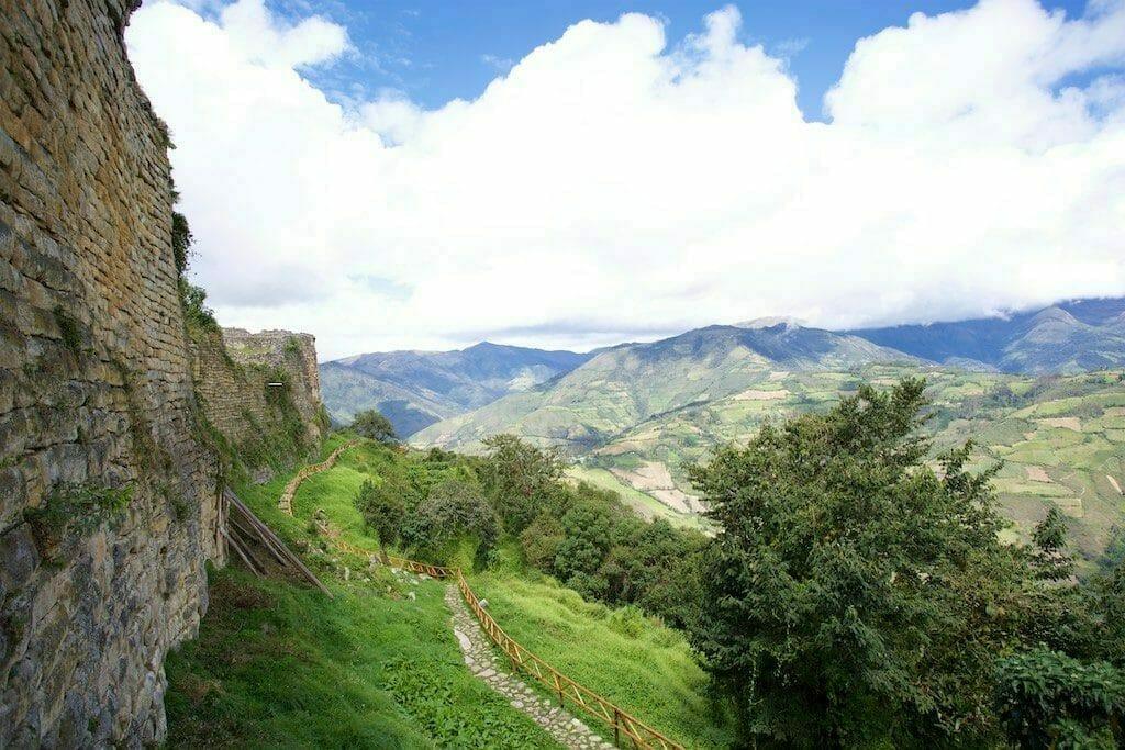 Kuelap Peru Panorama