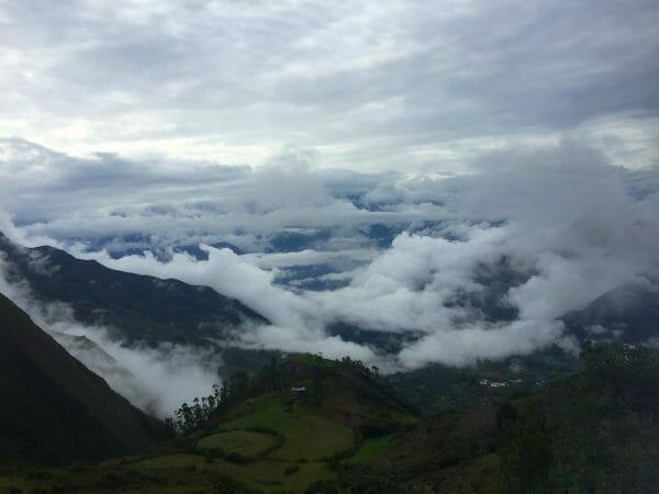 Peru nördliches Hochland. Die Bergnebelwälder der Anden.