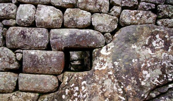 Mauer in Machu Picchu