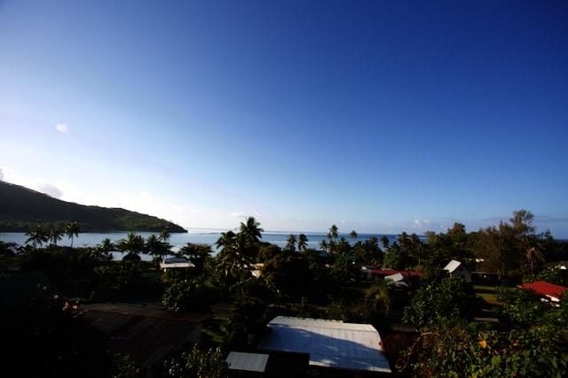 Moorea Reiseblog Französisch-Polynesien: Blick auf die Lagune
