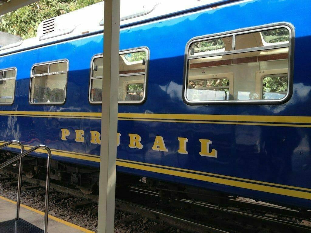 Reiseblog Peru: Unterwegs mit der Eisenbahn