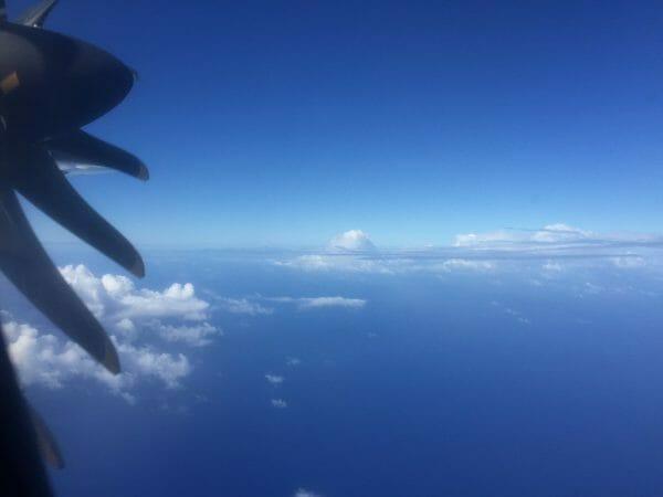 An Bord von Air Tahiti