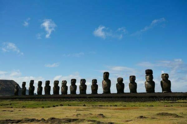 Reisetipps Osterinsel: Die Moai von Ahu Tongariki