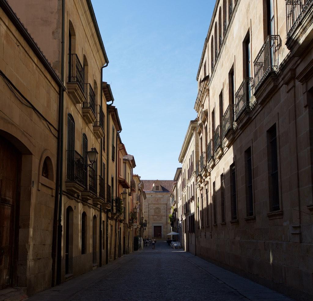 In den alten Straßen Salamancas
