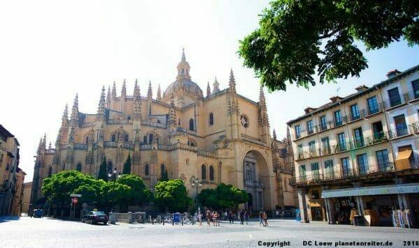 Roadtrip Spanien Segovia: Kathedrale