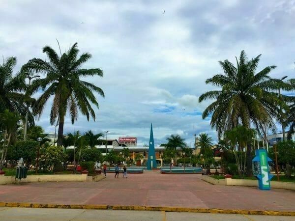 Plaza Central Tarapoto Peru