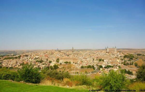 Panorama Toledo bei Tag