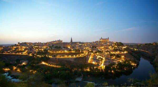Toledo bei Nacht
