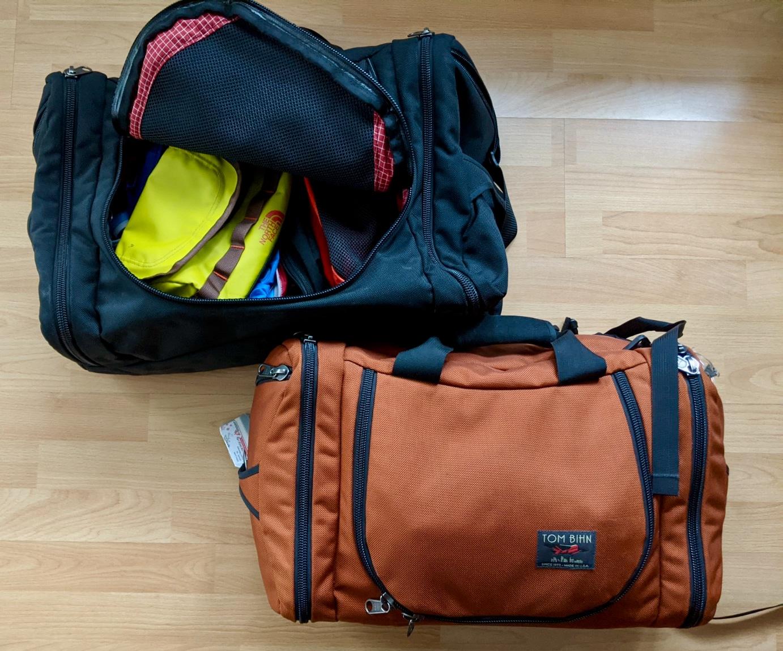 Beste Reisetasche: Aeronaut 45 und 30 von Hersteller Tom Bihn
