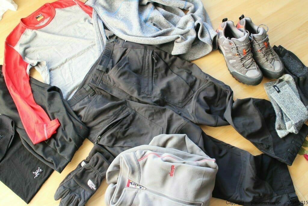 Norwegen Winterbekleidung